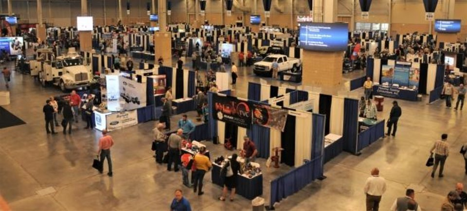 Photo -  The Oil & Gas Expo in Oklahoma City on Thursday had about 3,500 attendees. [JACK MONEY/THE OKLAHOMAN]