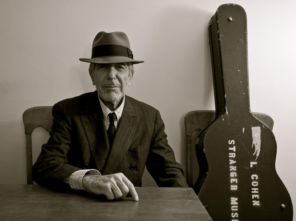 Photo - On Thursday night, news of Leonard Cohen's passing hit Facebook. A memorial will take place in Los Angeles at a later date. [Photo provided]