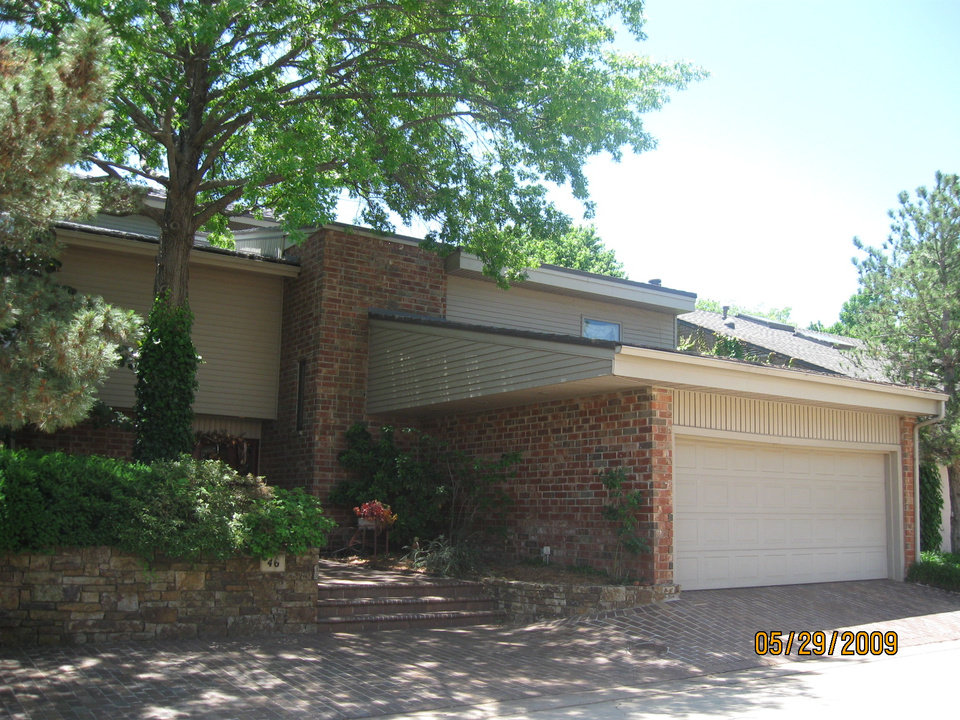 Photo - The federal government also is seeking to seize this $200,000 home at 46 Fountain Gate in Oklahoma City. A trust bought the home last year.  Oklahoma County assessor - Oklahoma County assessor