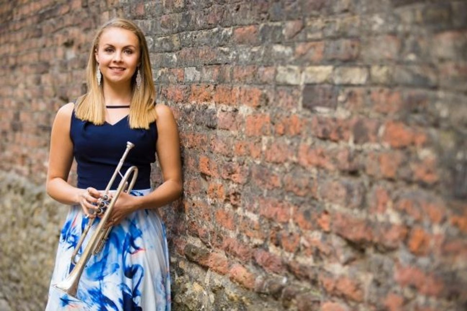 "Photo -  Trumpeter Matilda Lloyd will be the soloist when the Oklahoma City Philharmonic performs Armenian composer Alexander Arutiunian's ""Trumpet Concerto"
