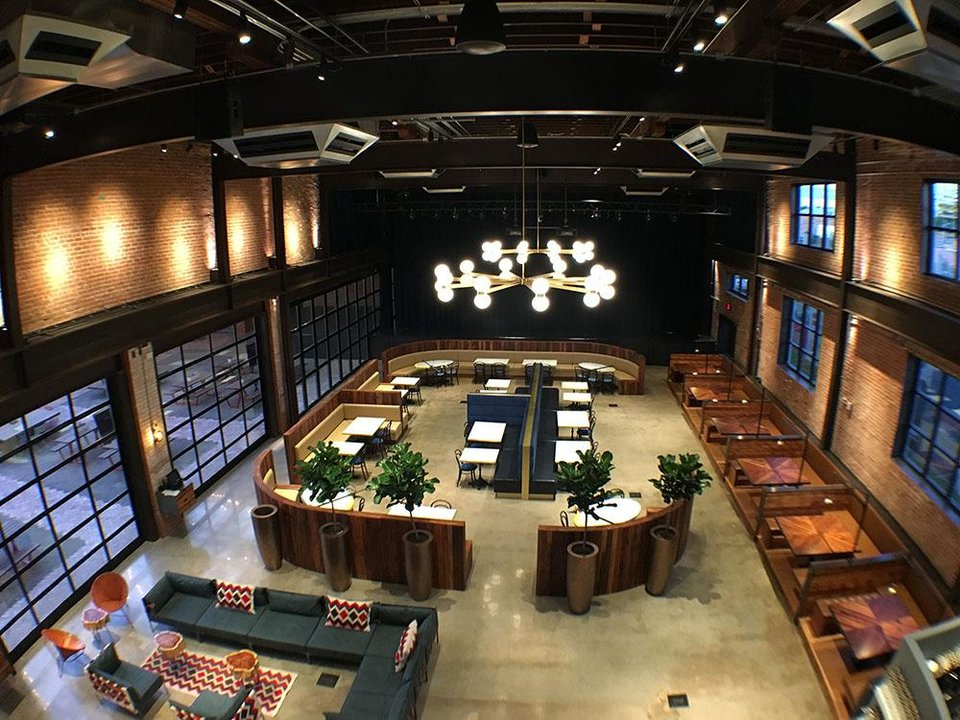 Photo -  This is the main dining hall of The Jones Assembly. [Photo provided]