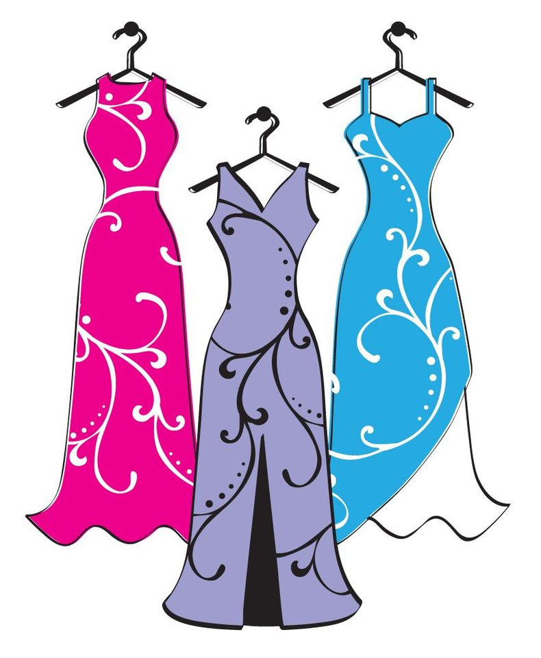 formal dress on hanger clipart wwwimgkidcom the