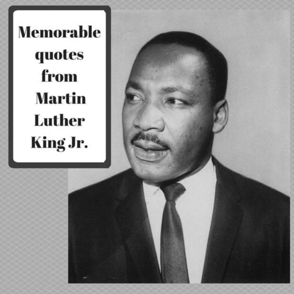 Images Of Martin Luther King Quotes Memorable Martin Luther King Jrquotes  News Ok