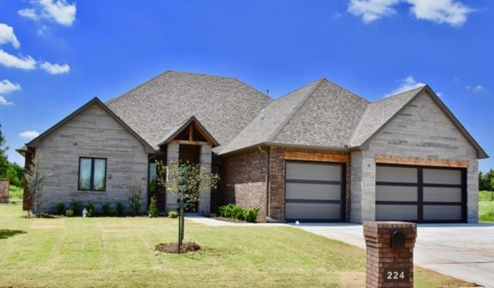 Photo -  Neal McGee Homes has this home at 224 Saint Claire Drive in Edmond's Oak Tree addition entered in the Parade of Homes Spring Festival. [PHOTO PROVIDED BY CENTRAL OKLAHOMA HOME BUILDERS ASSOCIATION]