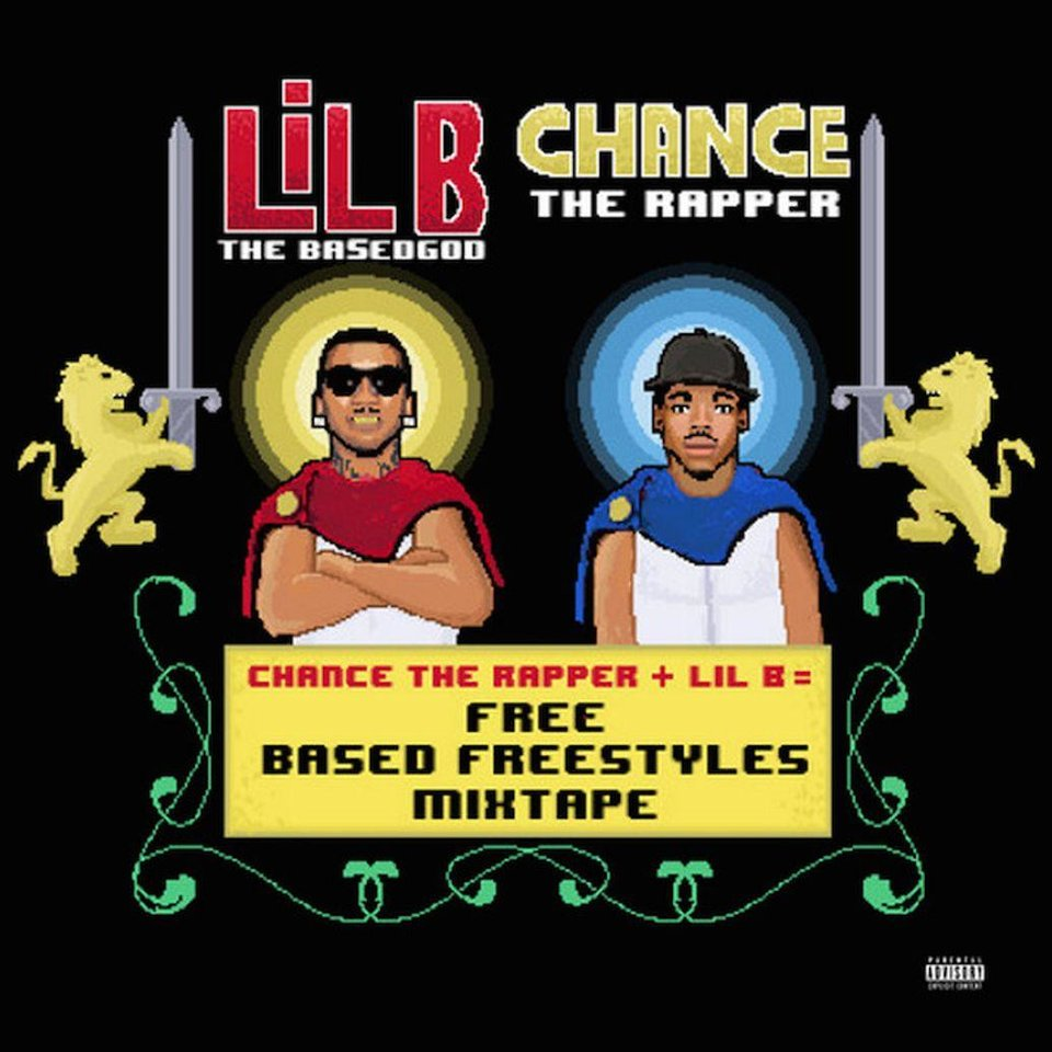 Photo - Pictured is the cover art for Lil B and Chance The Rapper's collaborative mixtape