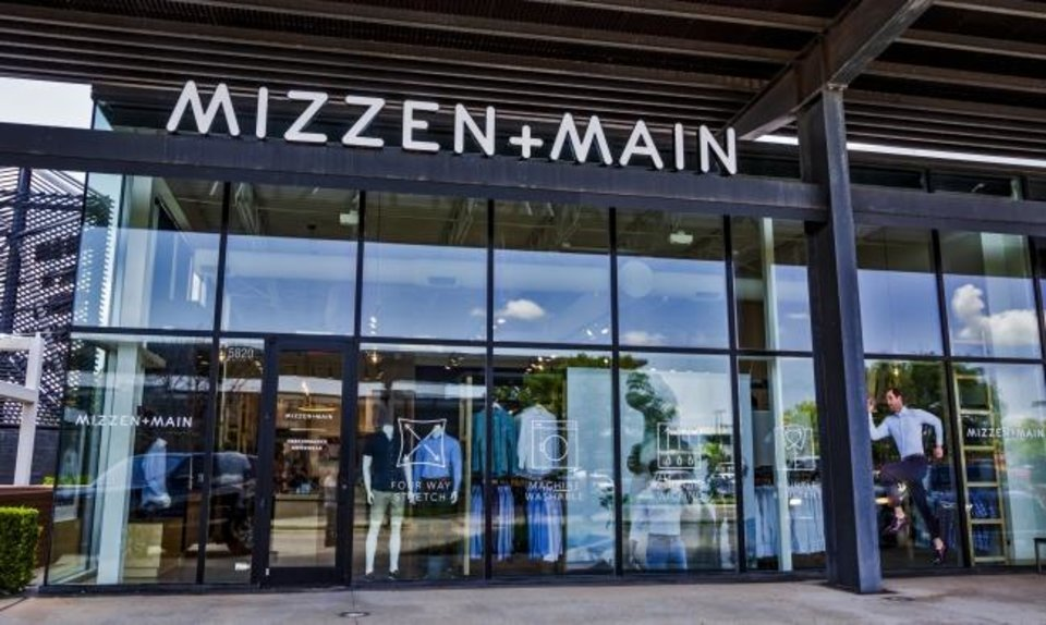 Photo -  The store front at the new Mizzen+Main location at Classen Curve in Oklahoma City.  [Chris Landsberger/The Oklahoman]