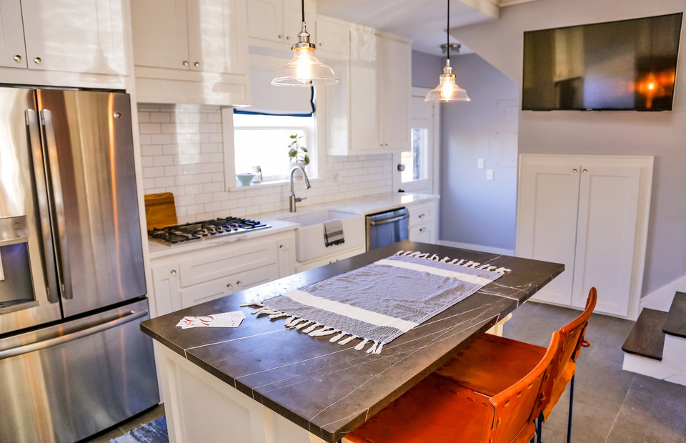 Nice Will Lightfoot us kitchen at NW in Mesta Park PHOTO BY CHRIS LANDSBERGER THE OKLAHOMAN