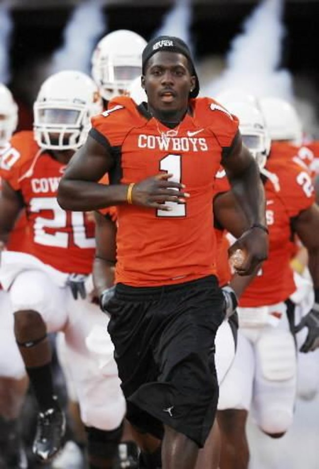 half off ff794 7238d OSU football notebook: Dez Bryant, Zac Robinson and Russell ...