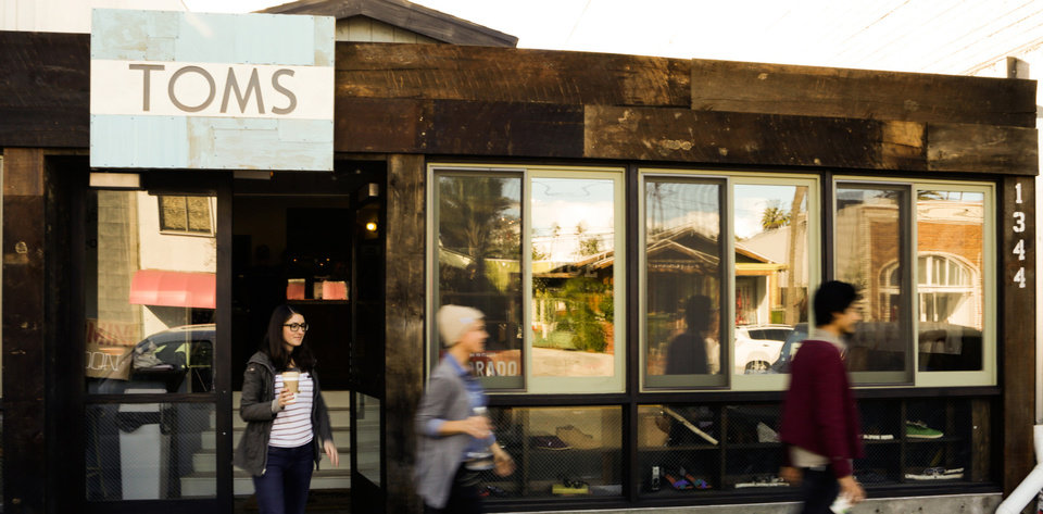 Toms Shoes Store Bali