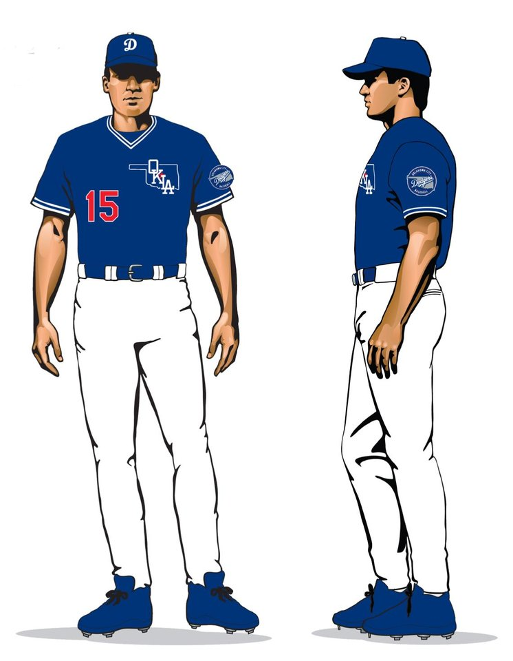 6ab081b0 Oklahoma City Dodgers logos and uniforms - Photo Gallery