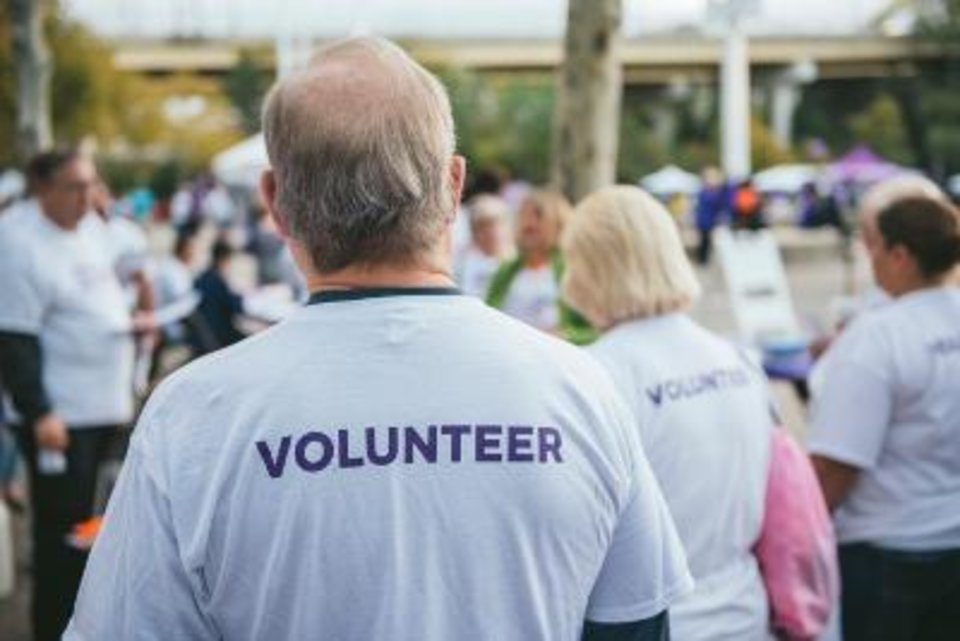 Photo - More than 400 volunteers will be on hand for the Walk. [Photo provided]