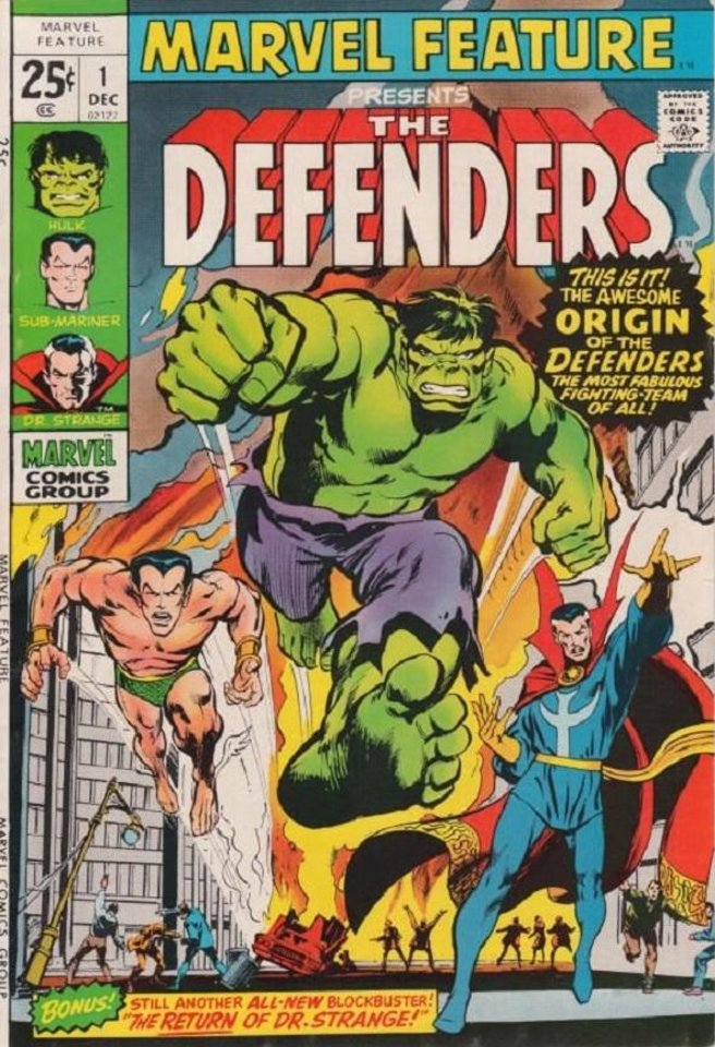 Photo -  The original Defenders first appeared as a team in