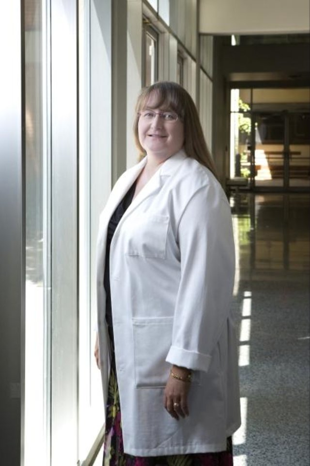 Photo -  Dr. Judith James is an immunologist, rheumatologist and vice president of clinical affairs at the Oklahoma Medical Research Foundation. [Provided photo]