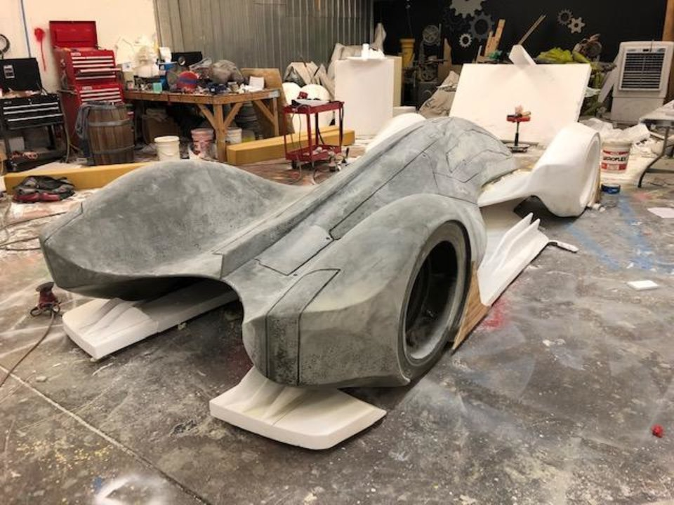 Photo - The Auto Show Alpha concept car model is nearing completion.  [PROVIDED]