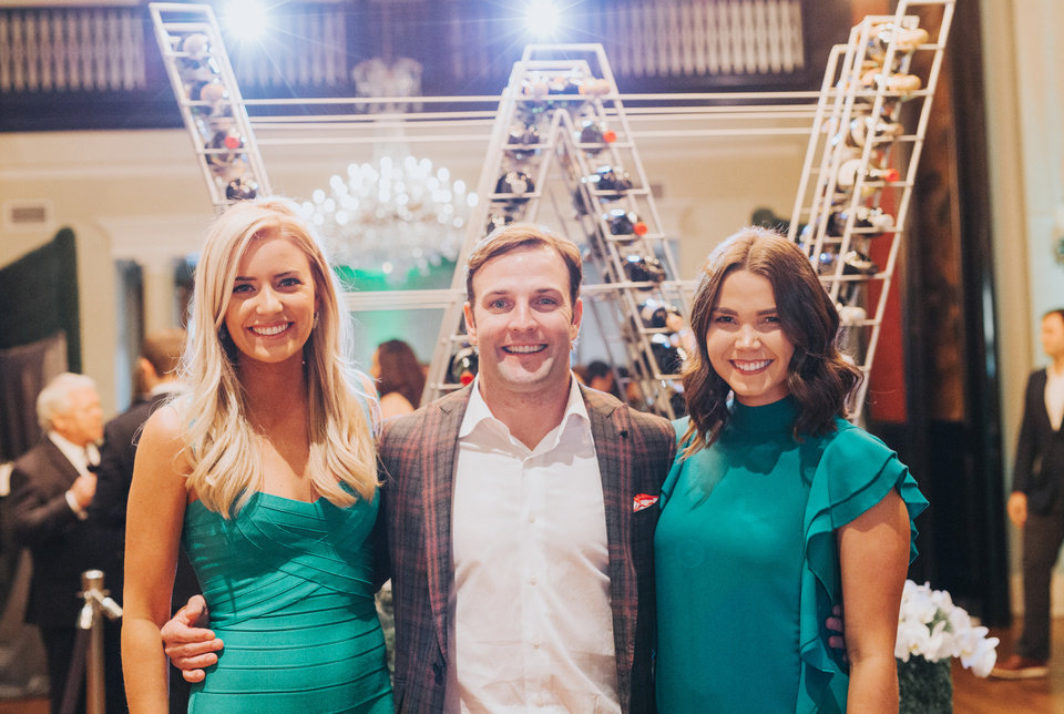 Photo - Alex Hodges, Wes Welker, Libby Howard. PHOTO PROVIDED