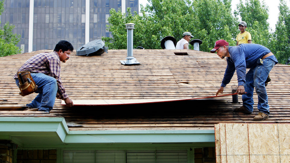 Wonderful ... Photo   ROOF REPAIR / ROOFERS: Pedro Gomez And Adolfo Tavera With All  American Roofing