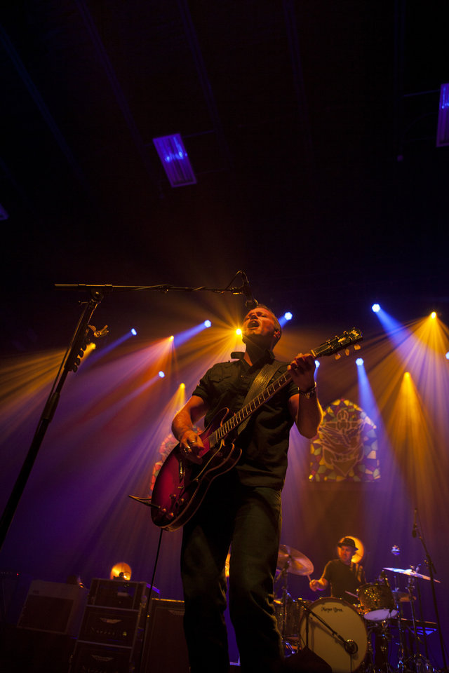Photo -  Jason Isbell performs live at The Criterion in 2016. The Grammy winner is returning to the Oklahoma City on Sept. 24 with Frank Turner & The Sleeping Souls. [Photo by Nathan Poppe, The Oklahoman]
