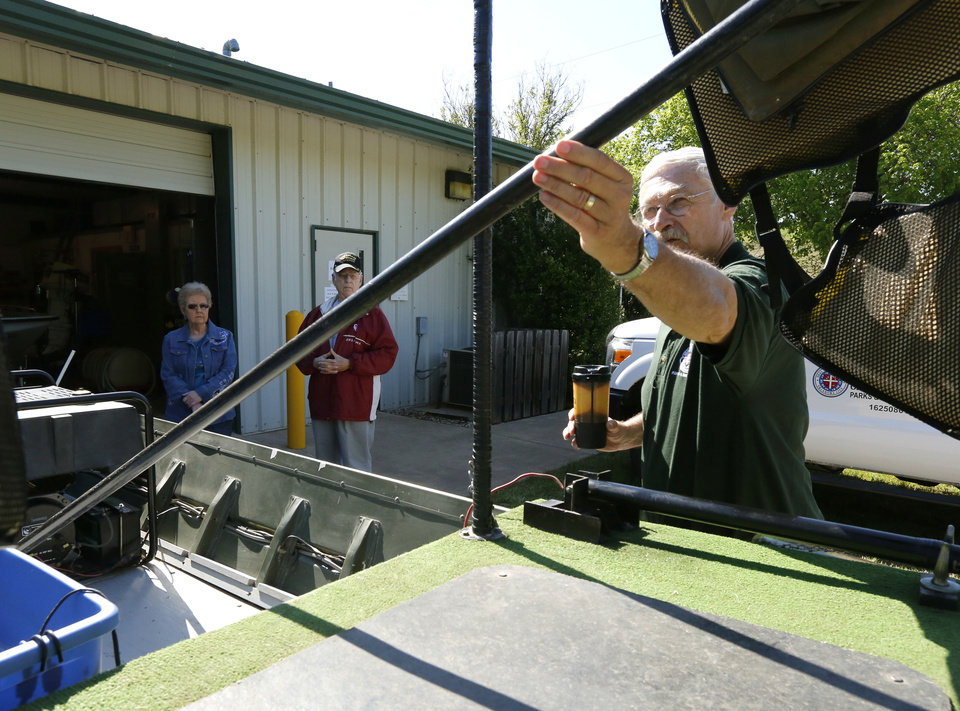 Outdoor notebook okc fish hatchery to hold open house for Martins fish house