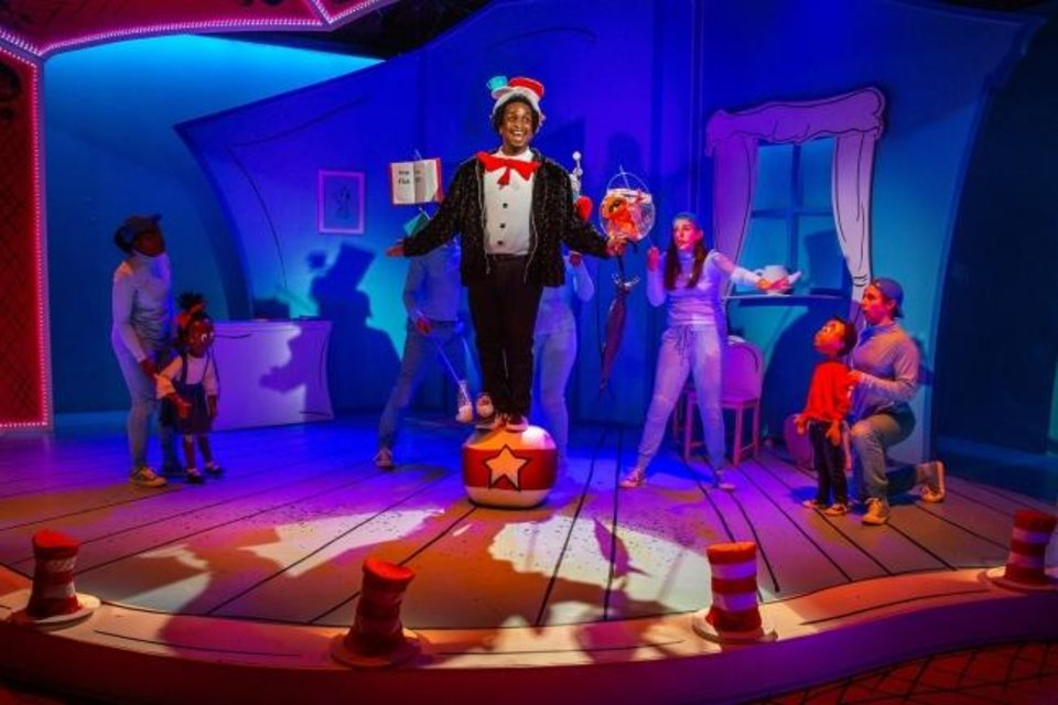 "Photo -  For the fourth installment of its Theatre for Young Audiences program, Lyric Theatre will present Dr. Seuss' ""The Cat in the Hat,"