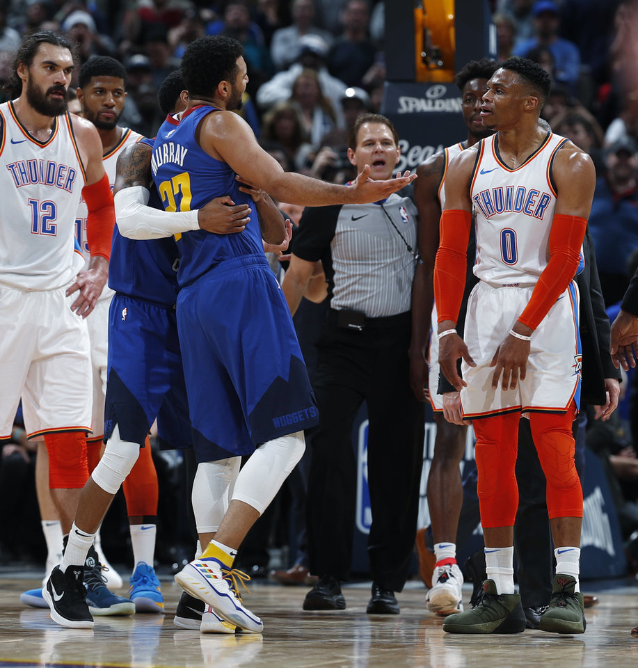 Denver Nuggets Guards: Thunder Struggles Widespread In 109-98 Loss To Nuggets