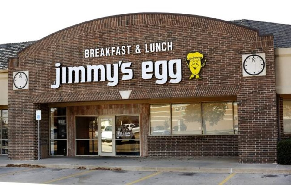 Photo -  Jimmy's Egg restaurant , 13837 N. May Ave. on Wednesday, Nov. 22, 2017. Photo by Jim Beckel, The Oklahoman