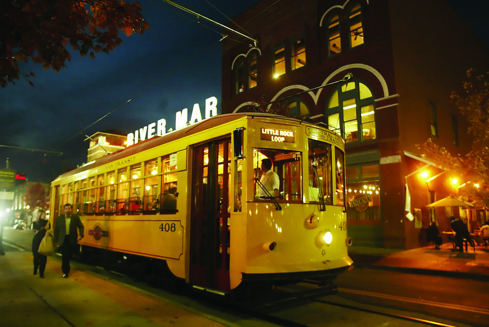Photo - River Market, a collection of small shops and restaurants, was the first downtown neighborhood to be revitalized. It?s within a walk or trolley ride of the Arkansas River Trail, Clinton Presidential Center, a convention center and hotels. PHOTO PROVIDED.