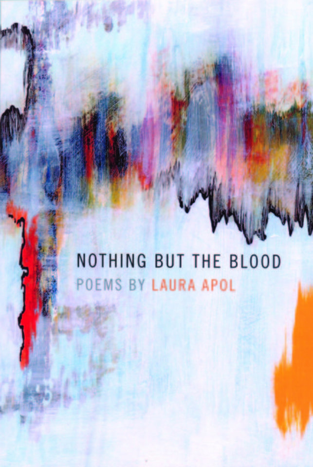 "Photo -  ""Nothing but the Blood,"" by Laura Apol; poetry winner"