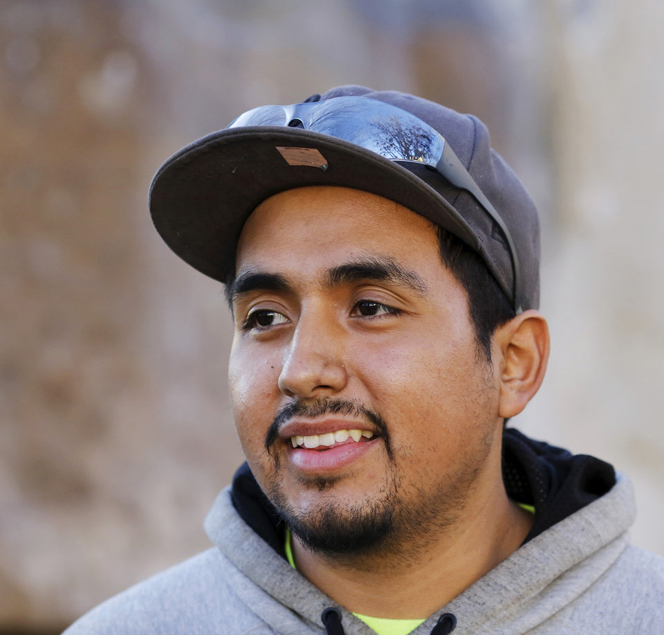 Alfredo (no Last Name Given) Helped Toanize A Protest On Feb 16 To  Support The A Day Without Immigrants Event [photo By Jim Beckel, The  Oklahoman]