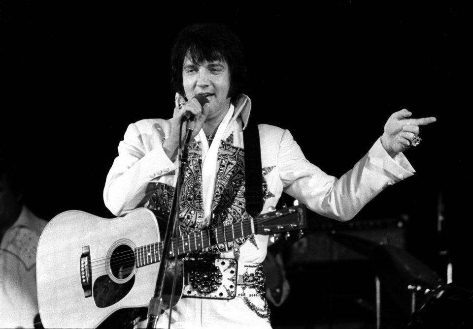 Elvis Presley 1977 Concert In Norman Throwback Thursday Photo Gallery
