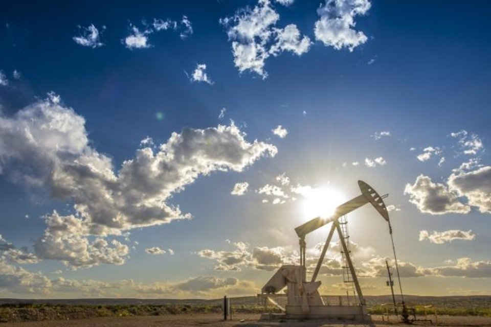Photo -  A Devon Energy well produces from the Delaware Basin. [PROVIDED BY DEVON ENERGY]