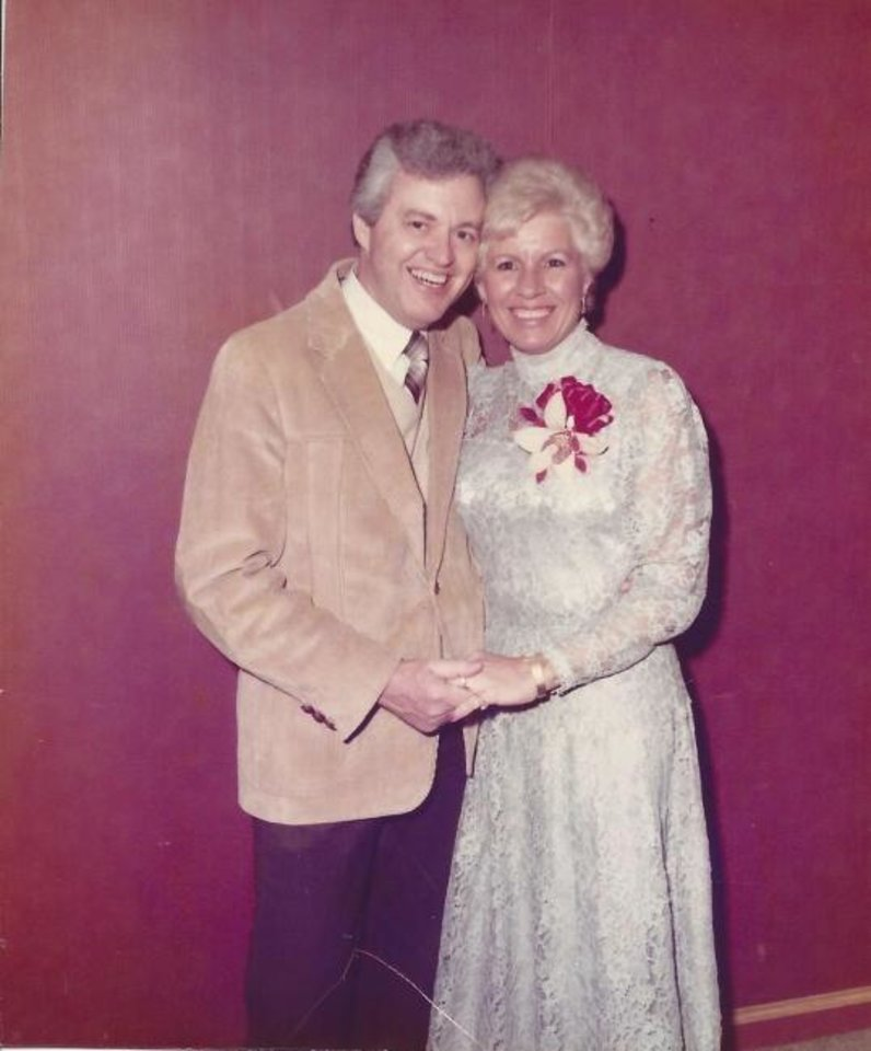 Photo -  Lanny and Jeanie Gardner at their engagement party in 1984. [PHOTO PROVIDED]
