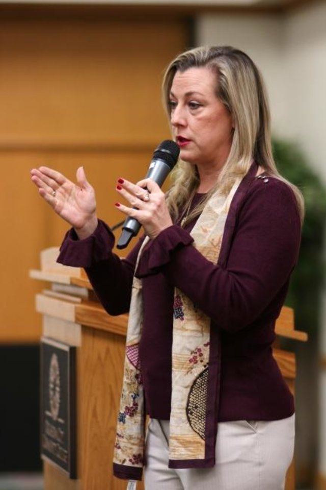 Photo -  U.S. Rep. Kendra Horn