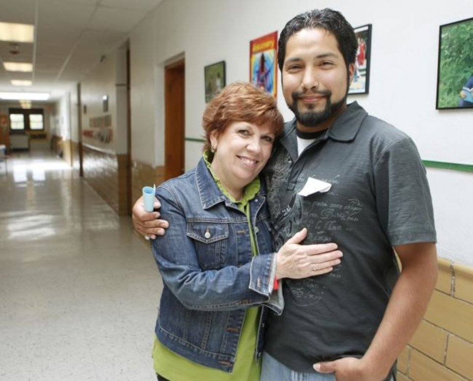 Photo -  Sally Goin and Miguel Rayos [The Oklahoman Archives]
