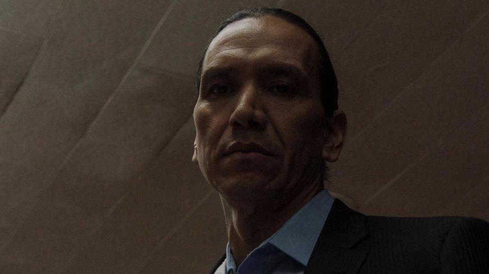 Photo - Michael Greyeyes appears in the Oklahoma-made film