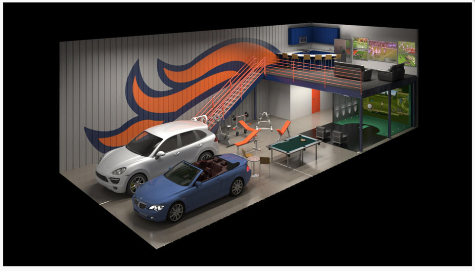 Man Cave Storage Denver : Climate controlled garage condos of oklahoma breaks ground