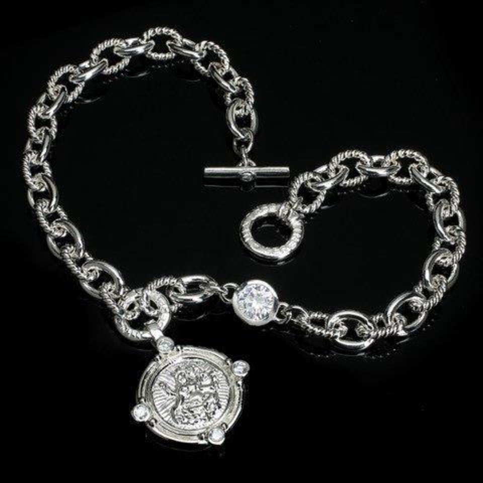 Photo - One of several pieces of jewelry that was stolen from a woman's vehicle in northwest Oklahoma City in late May. [Photo provided by the Oklahoma City Police Department]