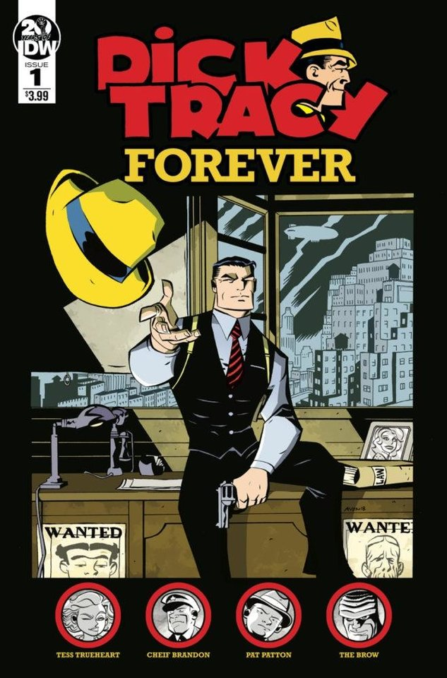 "Photo -  Michael Avon Oeming is the writer and artist of ""Dick Tracy Forever."" [IDW]"