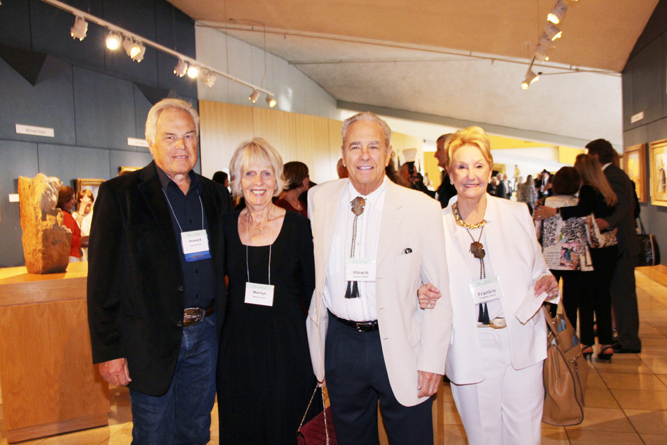 Photo - Howard and Marilyn Post, Howie and Frankie Alper. PHOTO PROVIDED