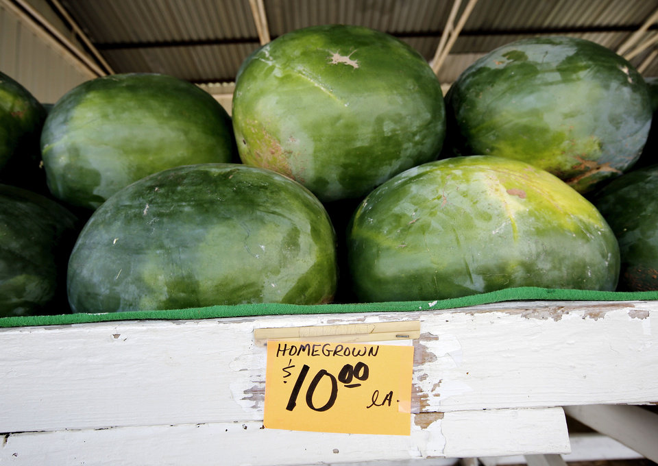 Rush Springs digs in for annual watermelon festival