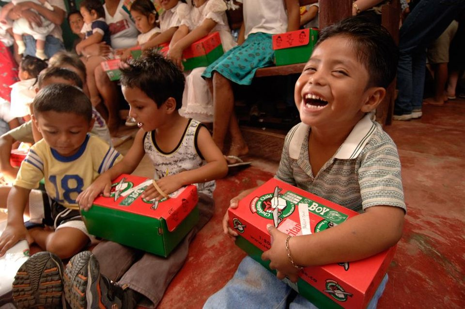 Children S Charity Shoe Boxes