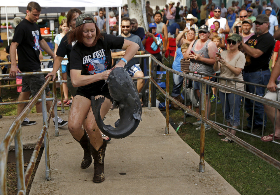 okie noodling festival in pauls valley spotlights hand-fishing, Reel Combo