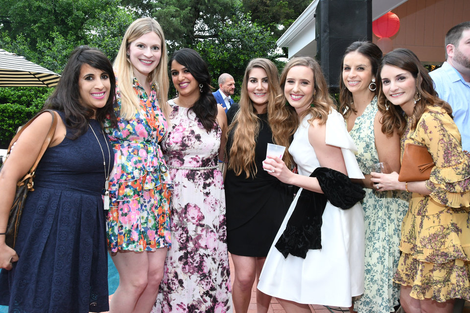 Photo - Mallory Tompkins, Christy Bennett, Nazish Ali, Mollie Campbell, Amber Martin, Megan Maker, Natasha Prado. PHOTO PROVIDED