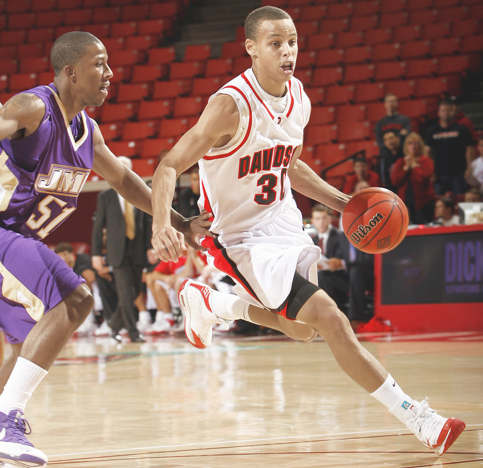 Stephen curry blake griffin represent two fifths of ap all america team by chris landsbergerthe oklahoman photo no 21 ranked davidson and stephen curry left are expected m4hsunfo