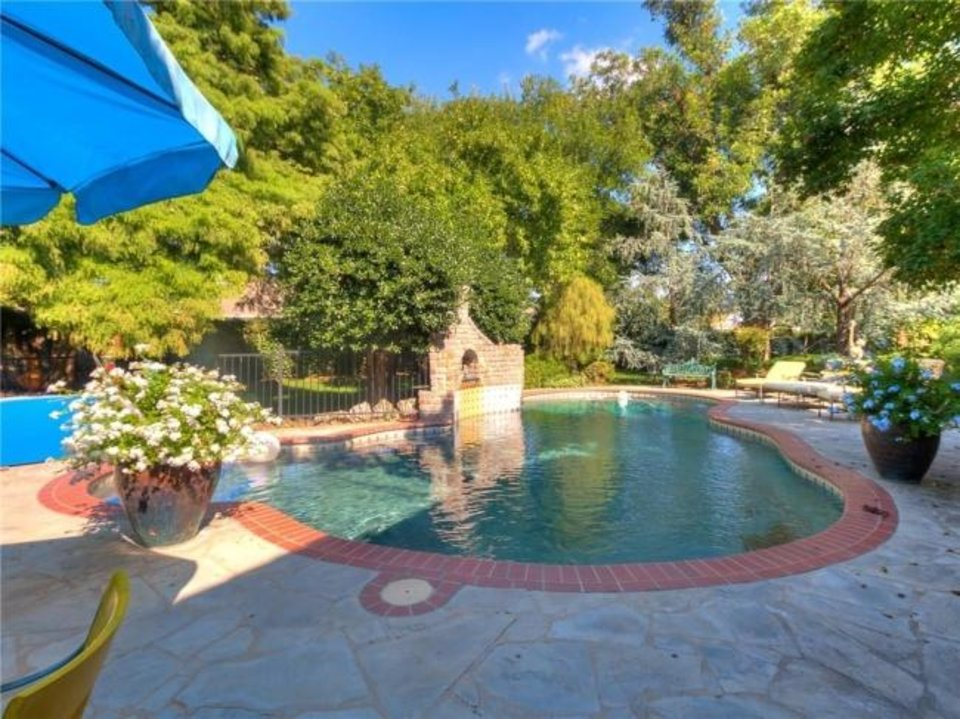 Photo -  Pool area at 4104 Ramsey Road in Yukon, the Listing of the Week. [PHOTO PROVIDED]