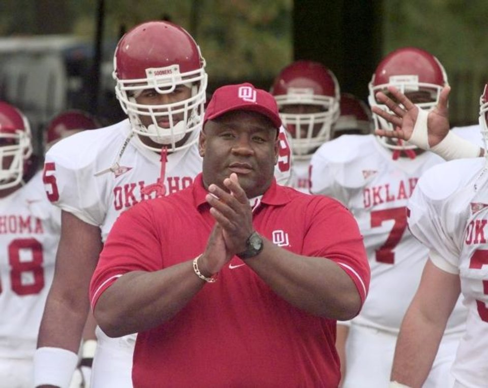 Photo -  Former OU football player and coach John Blake died Thursday at age 59 after suffering a heart attack. [OKLAHOMAN ARCHIVES]