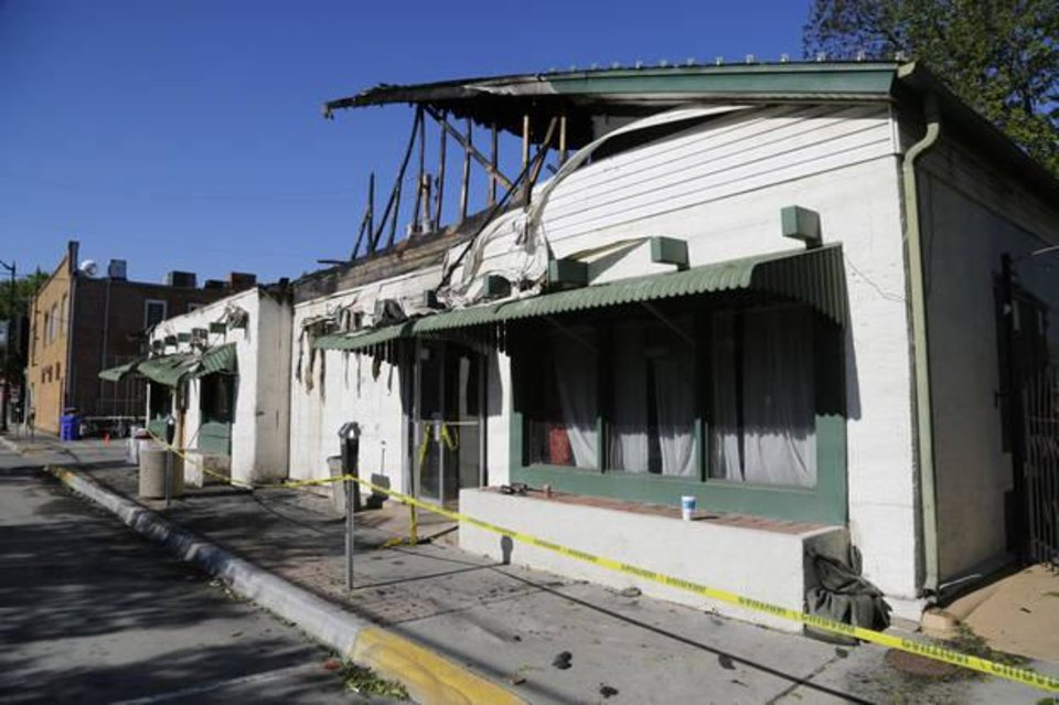 Photo -  Othello's Italian Restaurant in Norman lies vacant May 1, 2017, after a fire. [Oklahoman Archives photo]