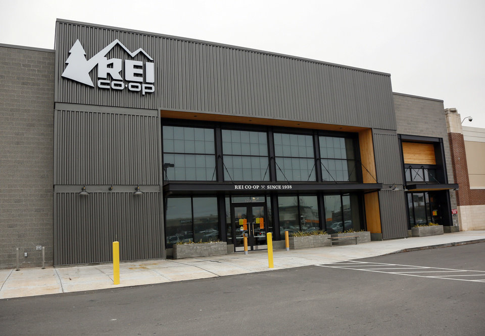 Photo - An exterior of the REI Co-op in Oklahoma City, Monday, March 16, 2020. REI has closed all of its retail stores until March 27 because of the coronavirus pandemic. [Nate Billings/The Oklahoman]