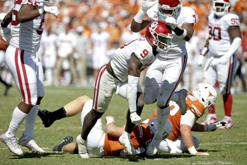 OU football: Kenneth Murray is face of Sooners' rebranded ...
