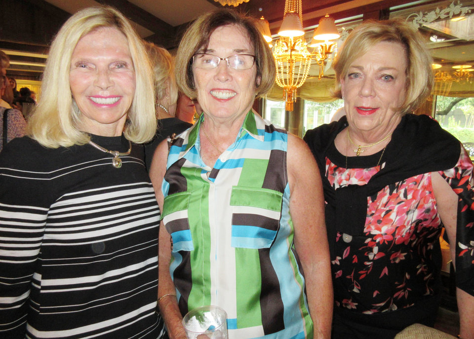 Photo - Andy Snyder, Bette MacKellar, Barbara Beeler. PHOTO BY HELEN FORD WALLACE, THE OKLAHOMAN