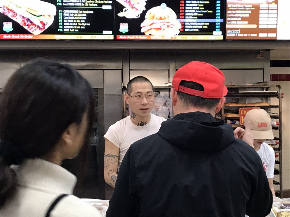 Photo - Chef Danny Bowien will return to Oklahoma City for a Mission Chinese pop-up this year at Chick N Beer. [Dave Cathey/The Oklahoman]
